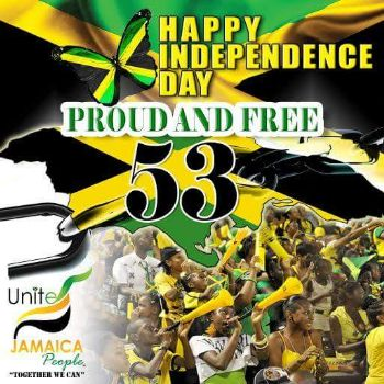 Happy Independence Day Jamaica - Jamaica independence day