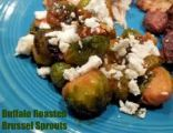 Buffalo Roasted Brussel Sprouts