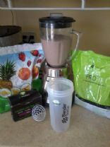 It Works! Protein Berry Smoothie/meal replacement