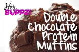 My Double Chocolate Protein Muffins