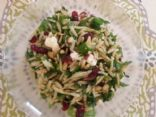 Orzo Salad with Spinach & Pine Nuts