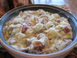 Southern Living's Blue Cheese and Green Onion Potato Salad, modified