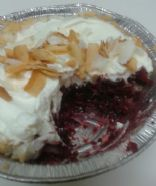 Very Berry Coconut-Crusted Pie