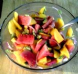 Watermelon Mango Avocado Salad