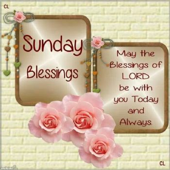 Sunday Blessings And Reflections
