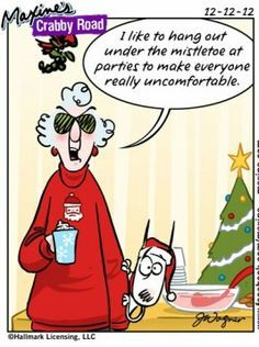 Cynical Christmas with Crabby Maxine