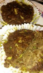 low carb gluten free zucchini chocolate muffins